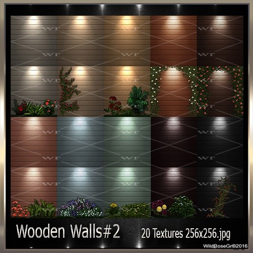 ~ WOODEN WALLS#2 TEXTURE PACK ~