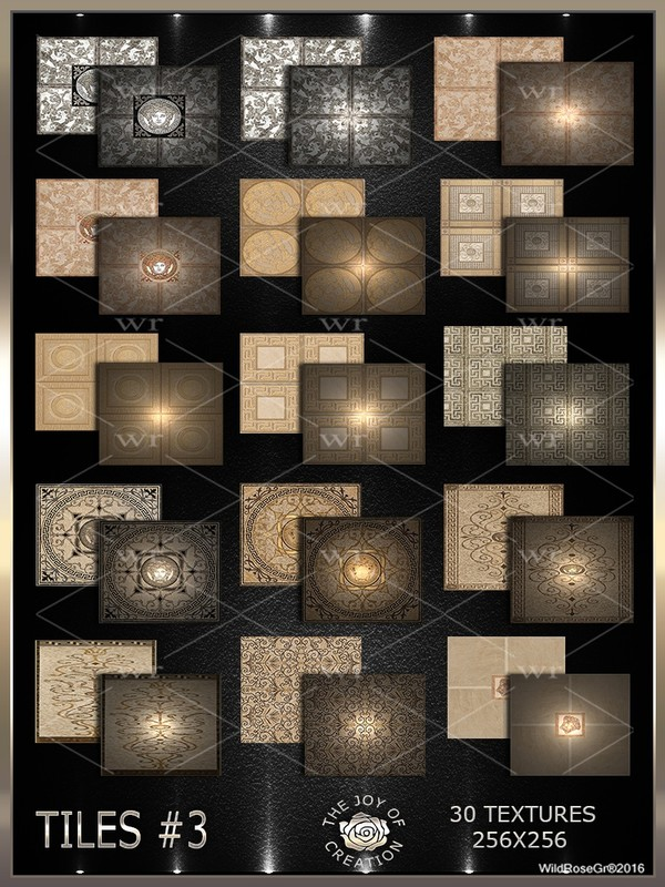 ~ TILES #3 TEXTURE PACK ~