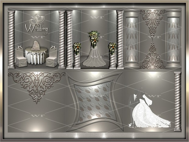 ~ SPECIAL WEDDING TEXTURE PACK ~
