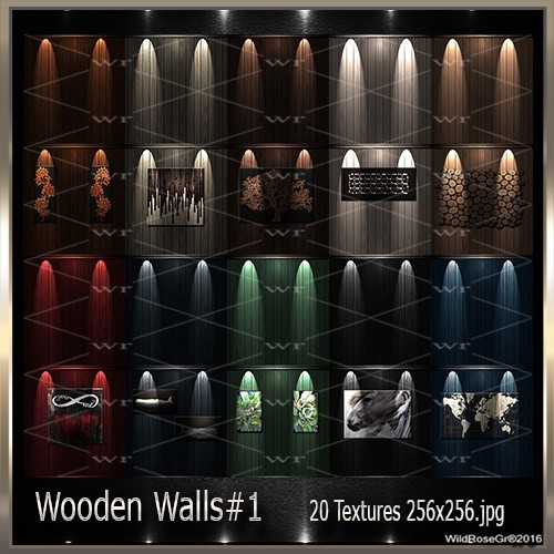~ WOODEN WALLS#1 TEXTURE PACK ~