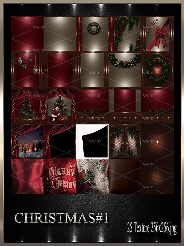 ~ CHRISTMAS #1 IMVU TEXTURE PACK