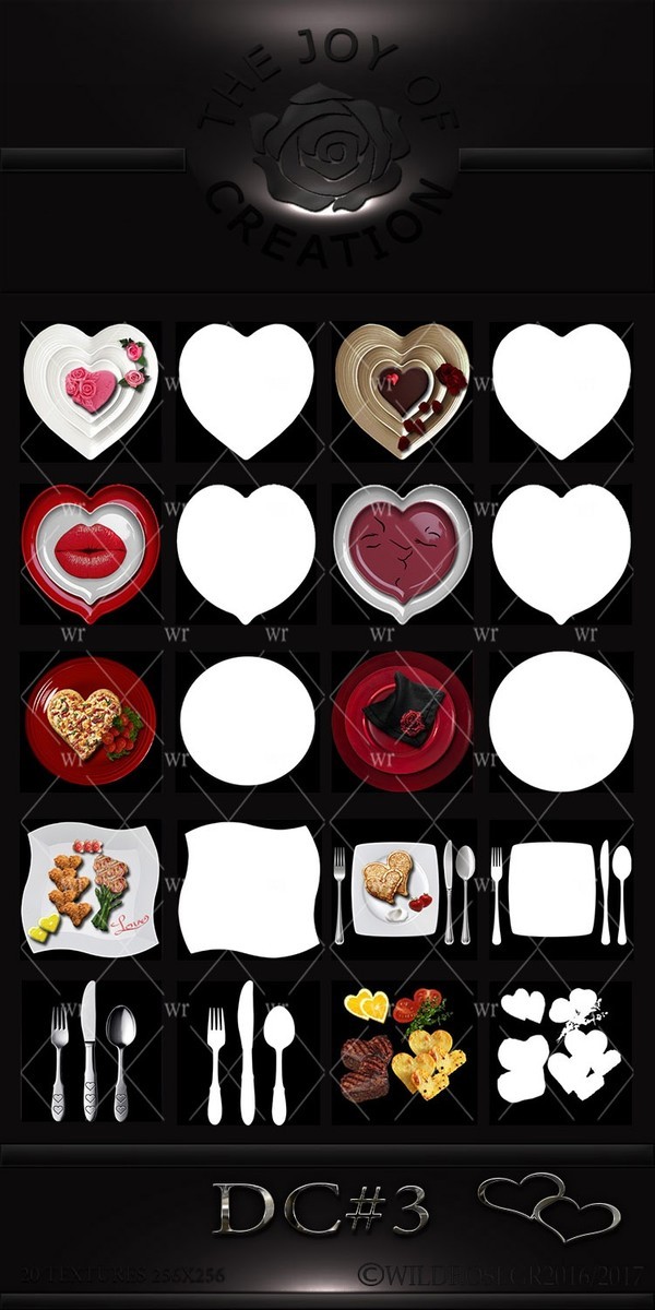 DC#3 (VALENTINES DINNER SET)