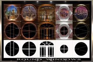 ~ ROUND WINDOWS IMVU TEXTURE PACK ~