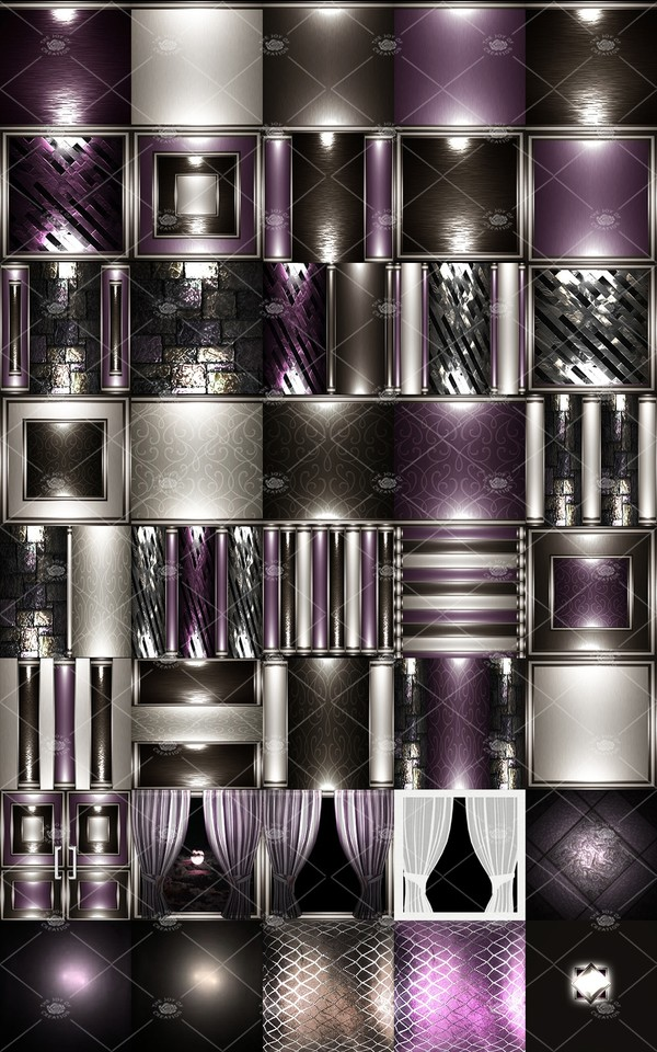 "OLDER COLLECTION "" VIOLETE """