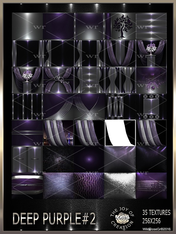 ~ DEEP PURPLE #2 TEXTURE PACK ~