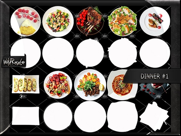 DINNER SET #1
