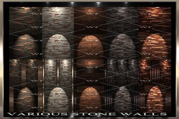 ~ VARIOUS STONE WALLS IMVU TEXTURE PACK ~
