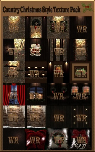 ~ COUNTRY CHRISTMAS STYLE IMVU TEXTURE PACK ~
