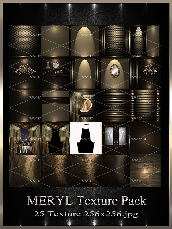 ~ MERYL IMVU TEXTURE PACK ~