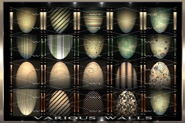 ~ VARIOUS WALLS IMVU TEXTURE PACK ~