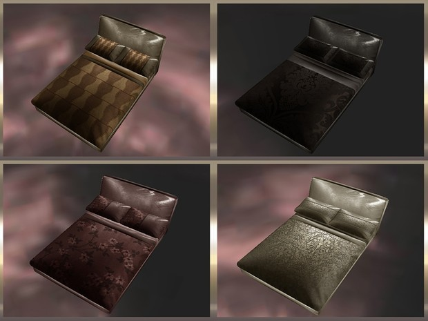 ~ BED COVERS & PILLOWS SETS TEXTURE PACK ~