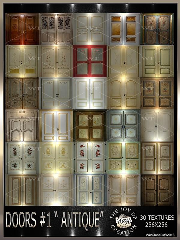 """~DOORS #1 """" ANTIQUE """" TEXTURE PACK ~"""