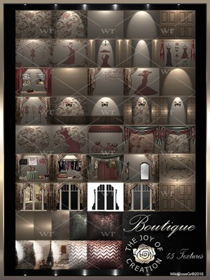 ~ BOUTIQUE TEXTURE PACK ~