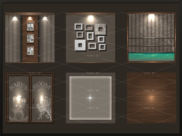 MINIMAL BABY'S ROOM TEXTURE PACK