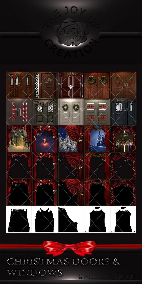 CHRISTMAS DOORS & WINDOWS