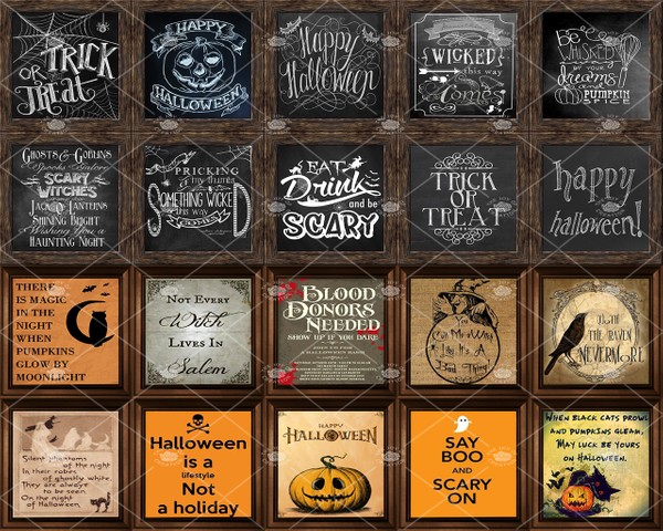 "OLDER COLLECTION "" HALLOWEEN QUOTES """