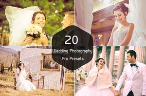 20 Wedding Photography Pro Lightroom Presets