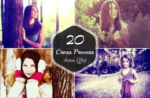 20 Cross Process Photoshop Actions