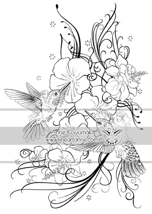 Pixies and Hummingbirds