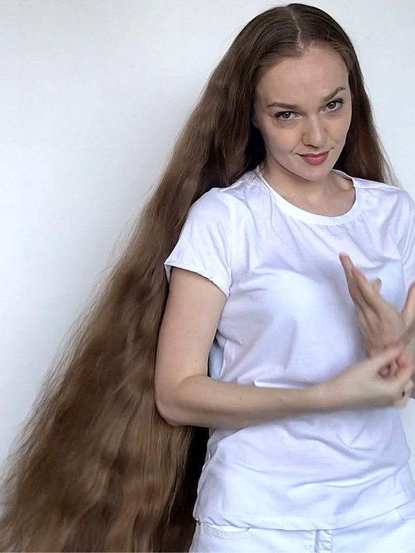 VIDEO - Orysya's double hairstyles