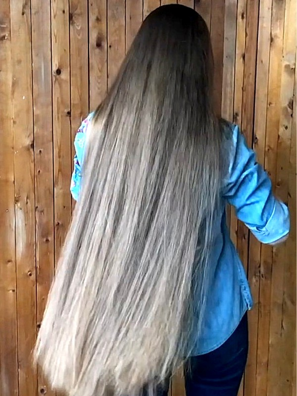 VIDEO - 100% Perfect ponytails