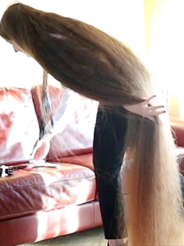 VIDEO - Extreme hair drying