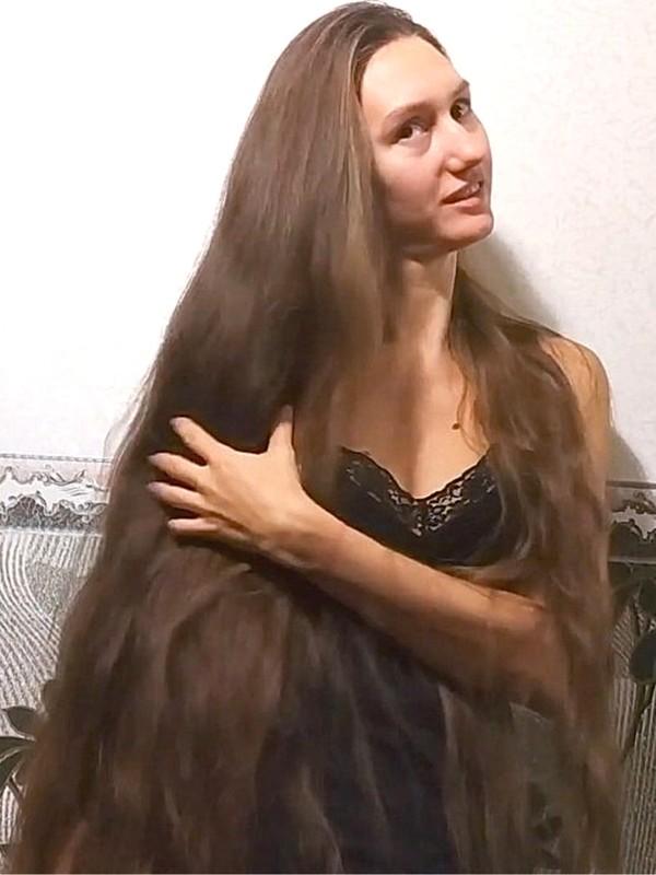 VIDEO - Tatyana's thick silk