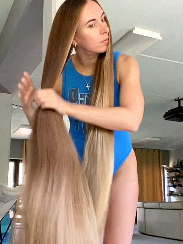 VIDEO - Heavy, long and silky soft