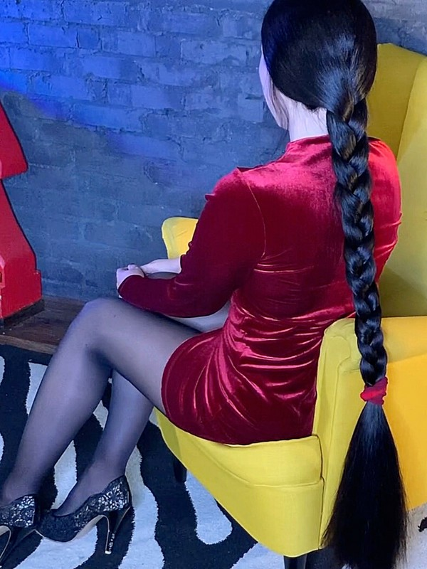 VIDEO - Super thick braid play