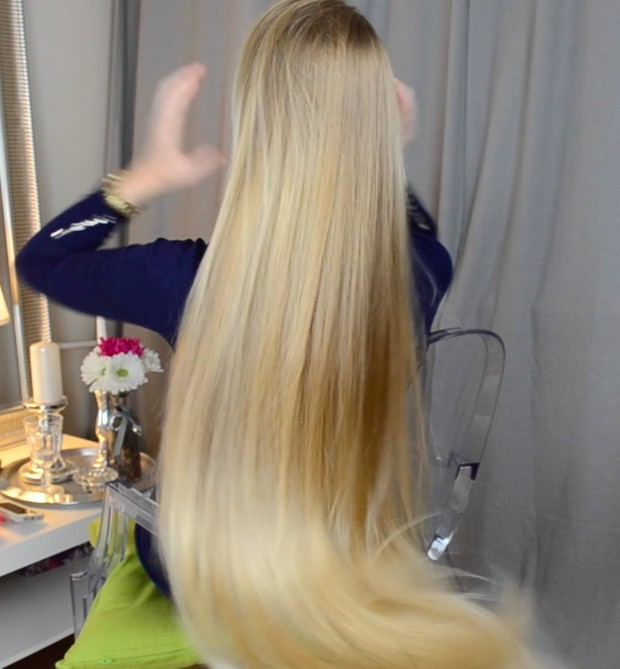 VIDEO - Premium blonde hair! (Classic length)