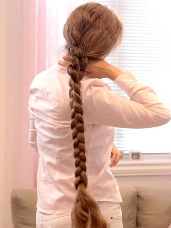 VIDEO - Siri's braids and braided buns