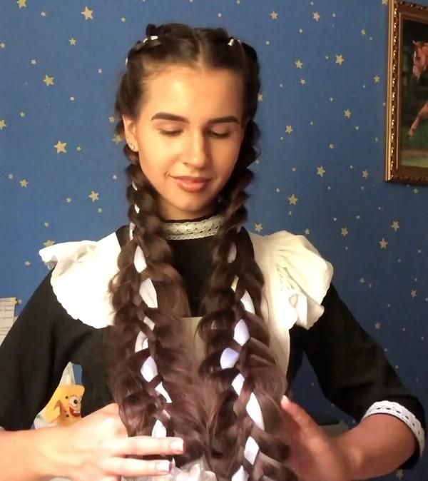 VIDEO - Diana's special braids