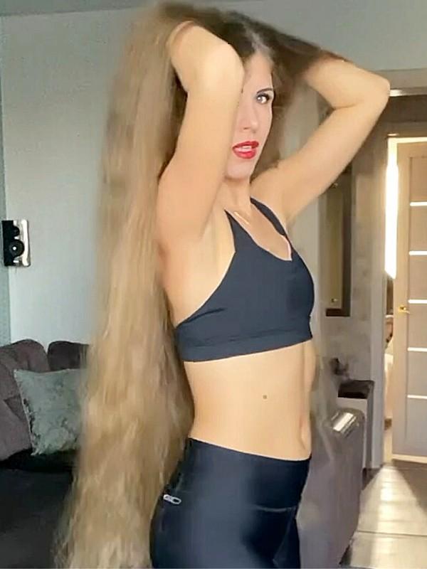 VIDEO - Extreme hair dance