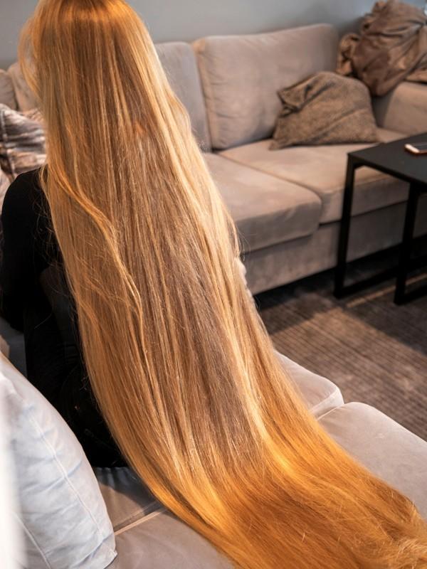 PHOTO SET - Rapunzel's long silk