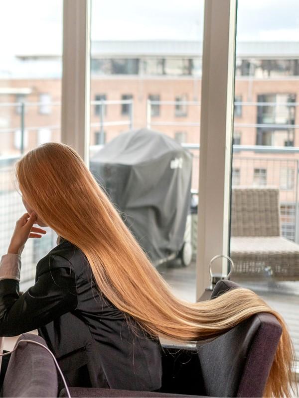 PHOTO SET - Sara the office Rapunzel