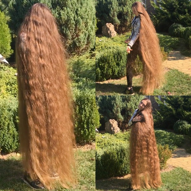 Video Sunny Hair Play Floor Length Realrapunzels