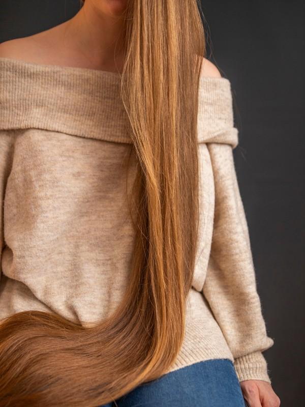 PHOTO SET - Elegant brunette hair photoshoot