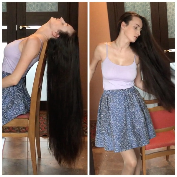 VIDEO - The silky hair show