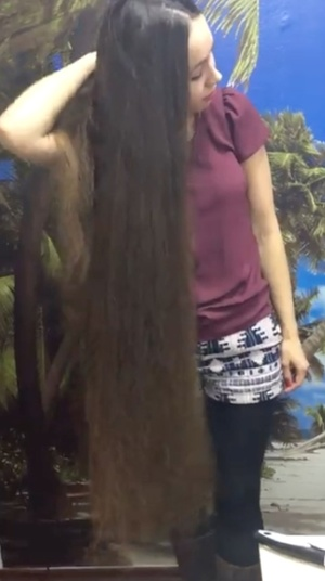 VIDEO - Superthick classic length hair