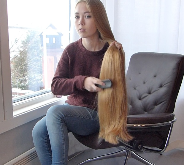VIDEO - Top quality hair