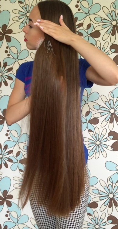 VIDEO - Long hair washing