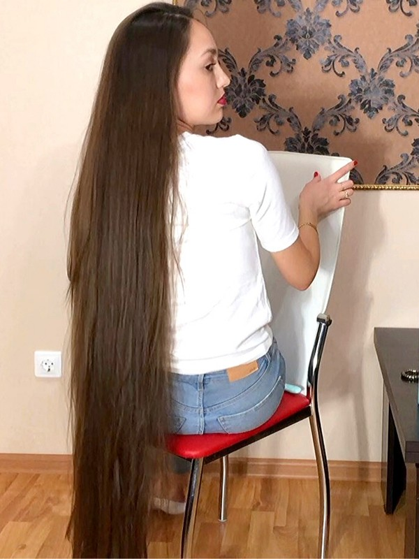 VIDEO - Perfect brunette hair show