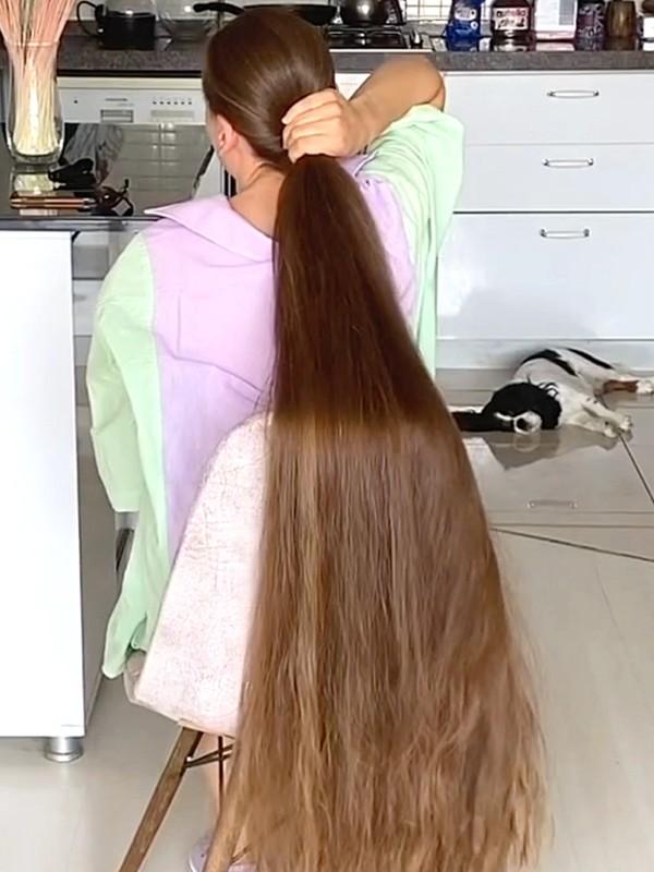 VIDEO - Ultimate Rapunzel beauty