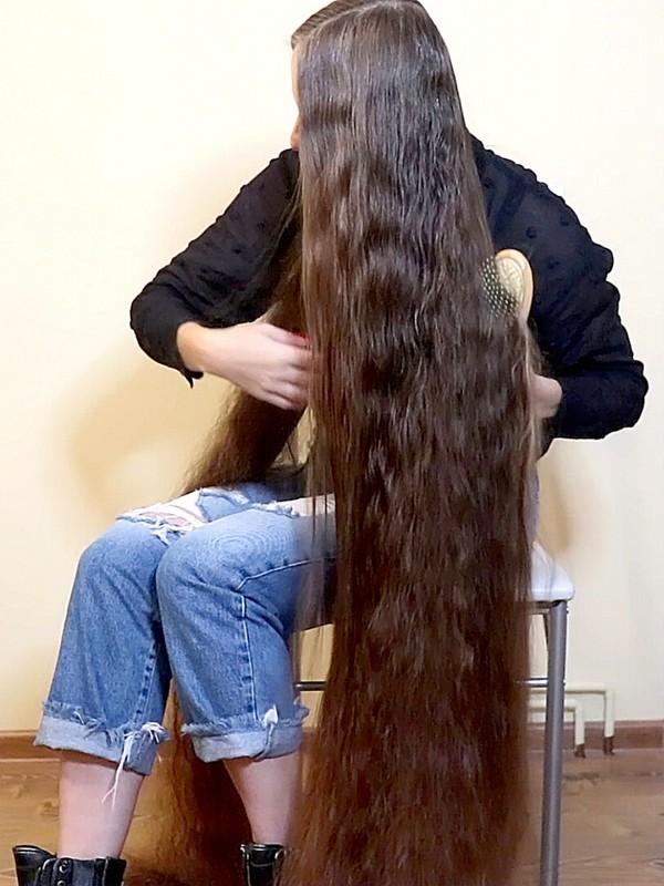 VIDEO - Ultra heavy wet hair