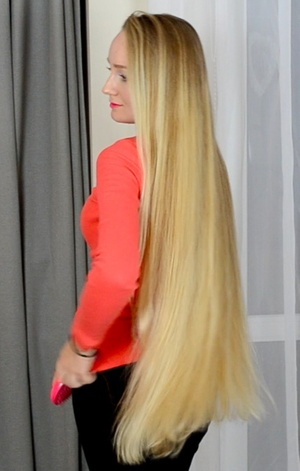 VIDEO - Premium classic length blonde hair special edition (part 2)
