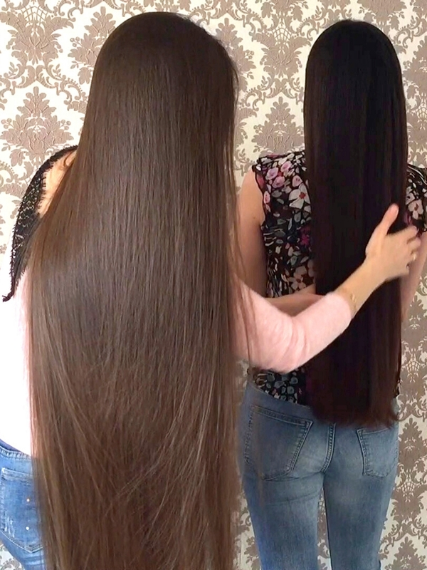 VIDEO - The perfect long hair duo
