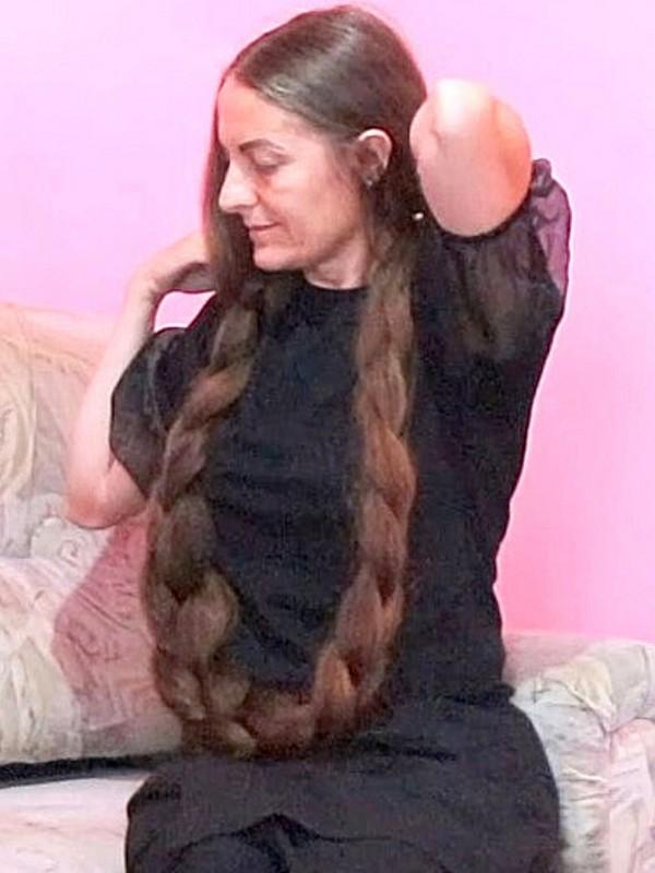 VIDEO - World's heaviest braid