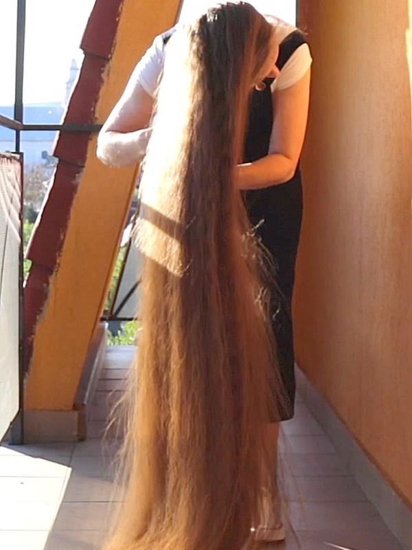 VIDEO - Ultra heavy hair
