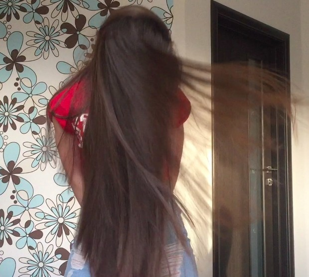 VIDEO - Classic length hair blowing