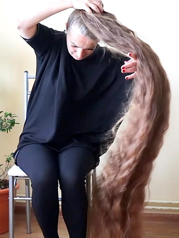 VIDEO - Hair more perfect than in a dream